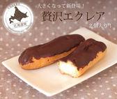 【北之歡】《2入脆皮巧克力泡芙》 ㊣日本原裝進口