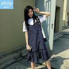 【V1818】shiny藍格子-盛夏絮語...