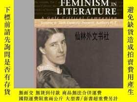 二手書博民逛書店【罕見】2004年出版 Feminism In Literatu