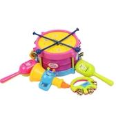 兒童樂器兒童拍拍鼓小孩手拍鼓樂器兒童早教寶寶玩具打擊樂器0-2-3歲 伊鞋本鋪