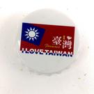 【收藏天地】台灣紀念品*開瓶器冰箱貼-台灣國旗 /小物 送禮 文創 風景 觀光  禮品
