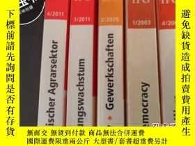 二手書博民逛書店INHALT CONTENTS罕見2011.1  2011.4
