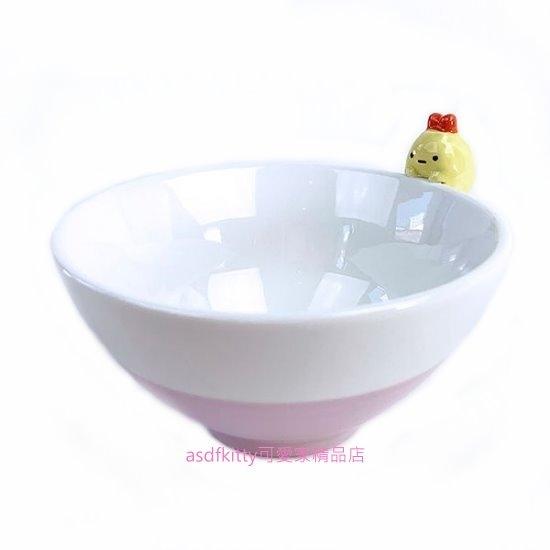 asdfkitty*日本san-x角落生物炸蝦造型杯緣子陶瓷碗/飯碗/湯碗-日本正版商品