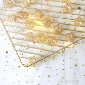 鏤空鑚石LED小彩燈閃燈串燈同款房間布置臥室裝飾少女心寢室 交換禮物