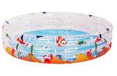 親親 海洋動物三環水池 SPOF01-150【德芳保健藥妝】游泳池 戲水池