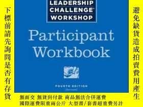 二手書博民逛書店The罕見Leadership Challenge Workshop Participant Workbook