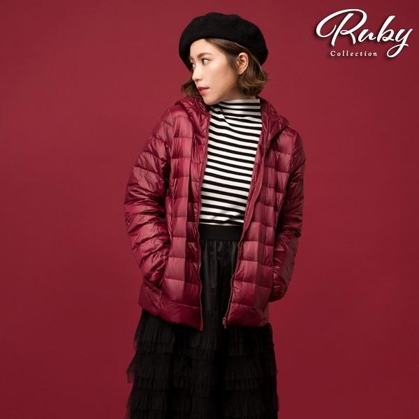 外套 RCha。輕羽絨連帽外套-Ruby s 露比午茶
