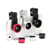 【R】超低價 萬用三合一鏡頭 iPhone 5S 5 Note2 Note3 S4 S5 SONY Z1 hTC M8 M7 紅米 手機 夾式 微距廣角魚眼