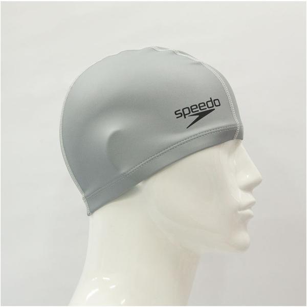 ≡Speedo≡ 成人合成泳帽 Ultra Pace 銀 - SD8017311731