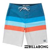 BILLABONG MOMENTUM X 衝浪褲 (條紋藍白) 【GO WILD】