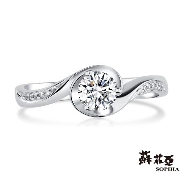 [精選美鑽8折]蘇菲亞SOPHIA - 誓約0.30克拉FVVS1鑽戒
