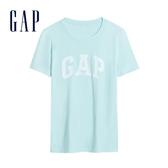 Gap女裝活力亮色圓領短袖T恤544923-蔚藍色