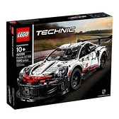 【南紡購物中心】【LEGO 樂高積木】科技 Technic 系列 - -Porsche 911 RSR(1580pcs)42096