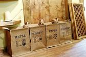 BO 雜貨【YP1584 】zakka 韓風復古棉麻四方分類收納袋收納箱洗衣籃髒衣籃雜物衣服收納