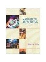 二手書博民逛書店《Managerial Accounting: Creating
