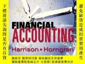 二手書博民逛書店Financial罕見Accounting & Integrator Student Cd Package, Fi