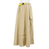 Adidas W Prsve Skirt [H29521] 女 運動裙 長裙 休閒 工裝 口袋 舒適 愛迪達 卡其