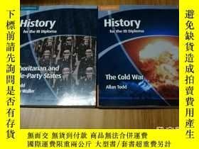二手書博民逛書店HISTORY罕見FOR THE IB DIPLOMA:THE COLD WAR 英文原版Y12800 ALL