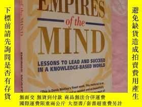 二手書博民逛書店EMPIRES罕見OF THE MIND:Lessons to
