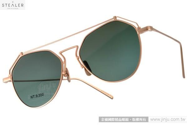 STEALER 太陽眼鏡 BEAM C02 (金) 摩登時尚造型款 # 金橘眼鏡