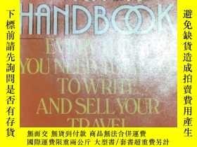 二手書博民逛書店【精裝英文原版】英文遊記寫作技巧手冊The罕見Travel Writer s Handbook: How to W