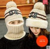 帽子女冬天潮休閒百搭毛線帽韓版針織帽保暖