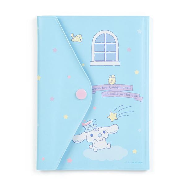 【震撼精品百貨】大耳狗_Cinnamoroll~Sanrio 大耳狗喜拿卡片收納夾-藍#70087