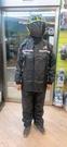 天德牌雨衣,R5(背包版)/黑黑