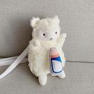 玩偶包 斜包包包女可愛挎包毛絨小新款2021玩偶側背手機小羊ins韓版毛毛