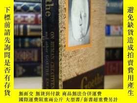 二手書博民逛書店歌德罕見Goethe on Human Creativeness and other Goether Essays