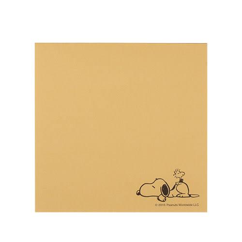 《sun-star》SNOOPY美式生活系列方形便條紙(經典白)★funbox生活用品★_OP49099