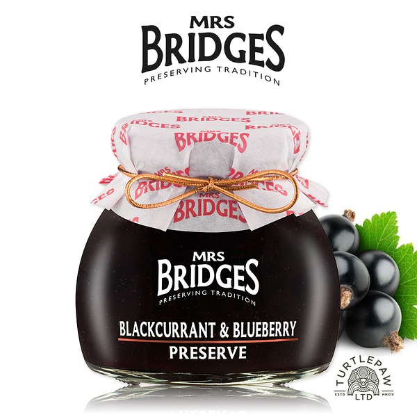 【MRS. BRIDGES】英橋夫人黑加侖藍莓果醬 (小)113g 交換禮物首選