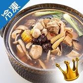 台中崇華-十全大補湯1400G/盒【愛買冷凍】