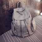 後背包 純色-旅行休閒大容量時尚女雙肩包3色73fd11【時尚巴黎】