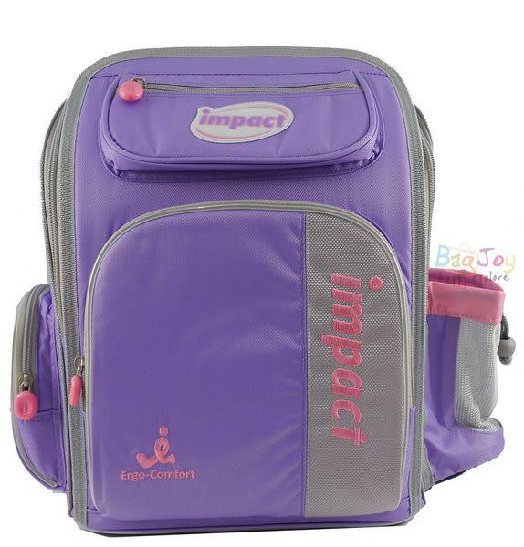 IMPACT-怡寶標準型舒適護脊書包-紫色 IM0037ALP