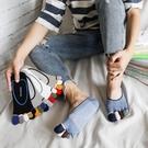 五指襪 夏季新男士襪子隱形五指襪船襪 純棉網眼透氣超薄淺口彩指5雙-Ballet朵朵