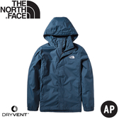【The North Face 男 DryVent防水外套《海軍藍》】49F7/防風外套/風衣/夾克