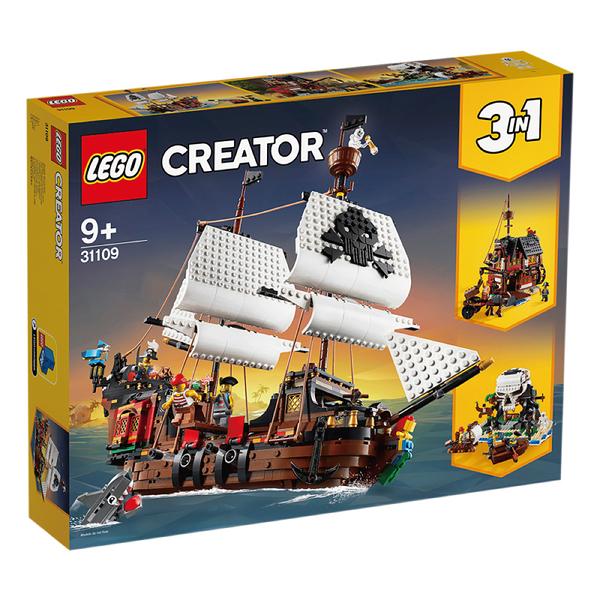 樂高積木Lego 31109 海盜船