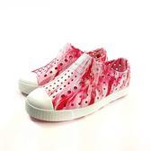 小童 Native  JEFFERSON  MARBLED 防水洞洞懶人休閒鞋《7+1童鞋》6041粉色