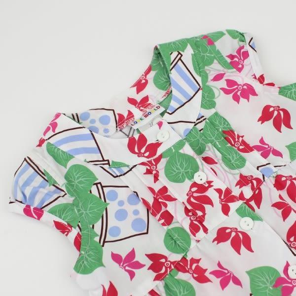 【愛的世界】純棉半袖上衣/3~4歲-台灣製- ★春夏上著 夏殺2折起