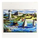 【收藏天地】台灣紀念品*創意特色磁鐵 - 墾丁碼頭 /  旅遊 紀念品 手信 景點