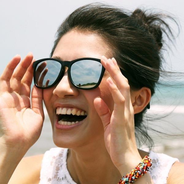 【南紡購物中心】2i s│Mark 太陽眼鏡│霧面黑色框│銀色反光鏡片│墨鏡│抗UV400