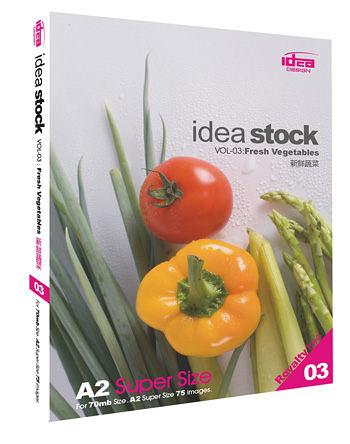 【軟體採Go網】IDEA意念圖庫 Idea Stock系列(03)新鮮蔬菜★廣告設計水果蔬菜影像素材★