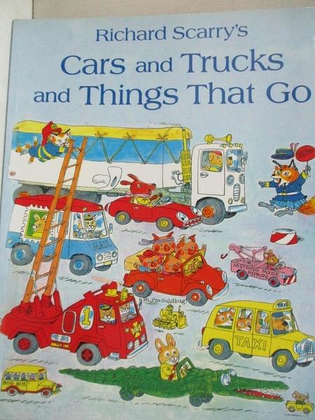 【書寶二手書T1/語言學習_EOD】Cars and Trucks and Things That Go