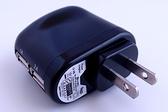 CAMKA CKA201A 雙USB 隨身旅充器/AC 電源轉USB/電源轉換器/電源充電器/旅充轉 USB