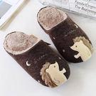 [現貨] 刺蝟毛絨保暖室內拖鞋 YUX8944
