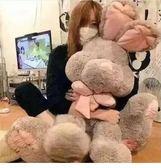 618大促 美國兔邦尼兔子公仔玩偶大號毛絨玩具布娃娃可愛睡覺抱女孩萌韓國