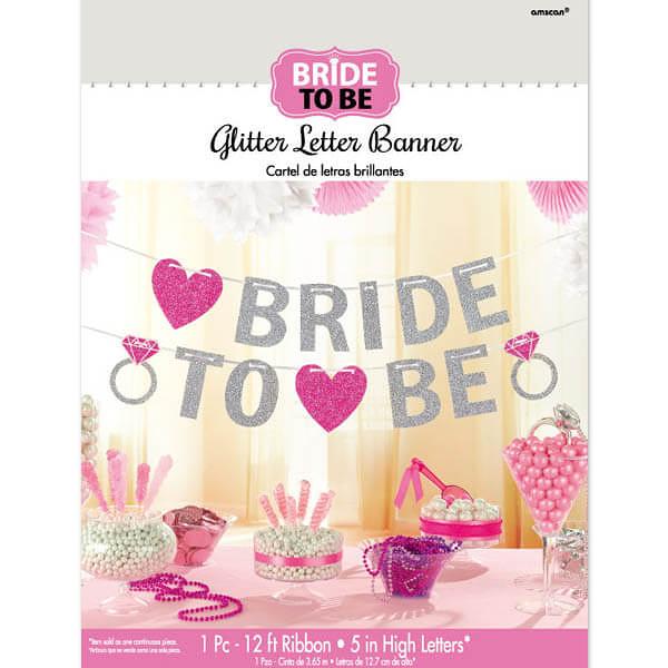 金蔥英文字串1入-Bride To Be