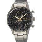 SEIKO 精工 鈦金屬 計時腕錶 SSB391P1 / 8T67-00N0D
