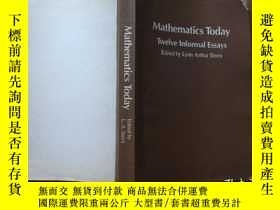 二手書博民逛書店MATHEMATICS罕見TODAY:twelve inform